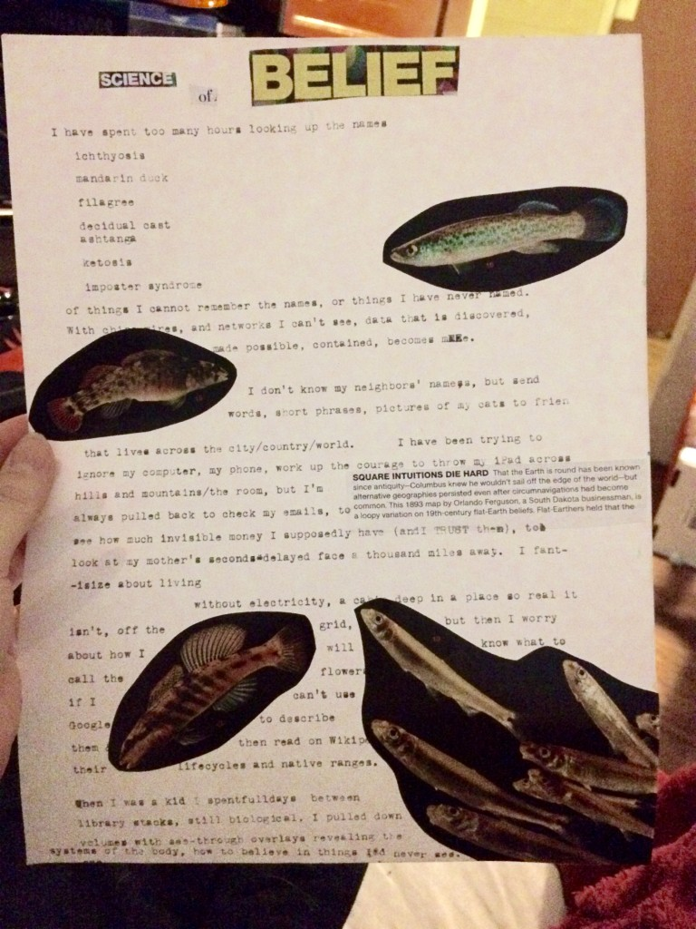 An Experiment with Images and Typewriting