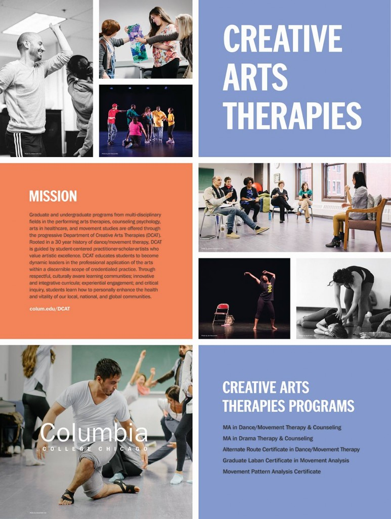 Department of Creative Art Therapies