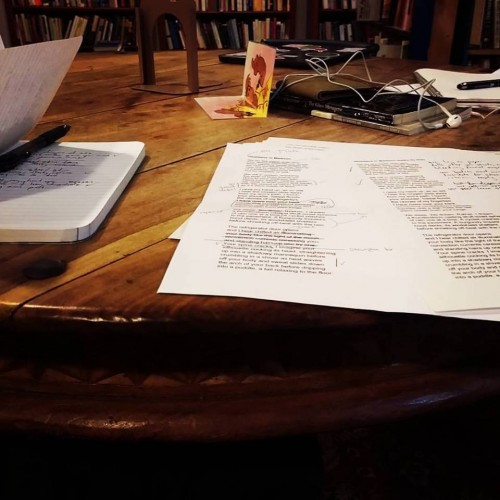 Writing at Myopic Books