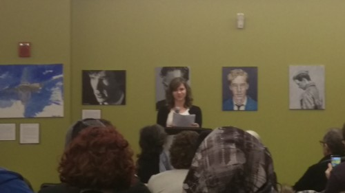 Chrissy Martin, first-year MFA candidate in Poetry