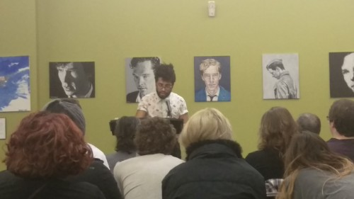 Evan Kleekamp, second-year MFA candidate