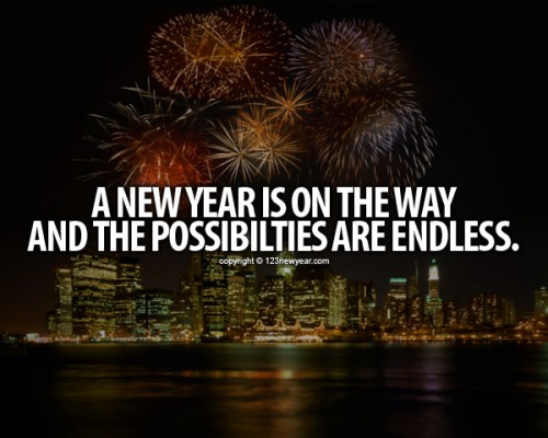 New year, no possibilities!