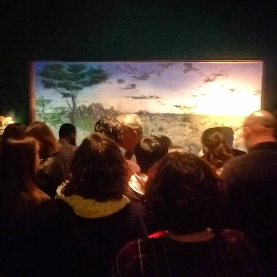 Nature! Except not. Unveiling of a nature diorama at The Field Museum (Photo by David Fairbanks)