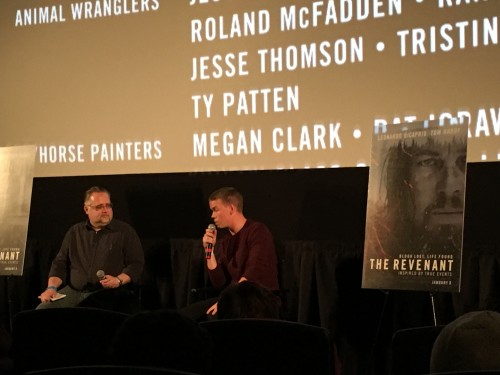 Q&A with actor Will Poulter, one day I will do a Q&A in a packed theater