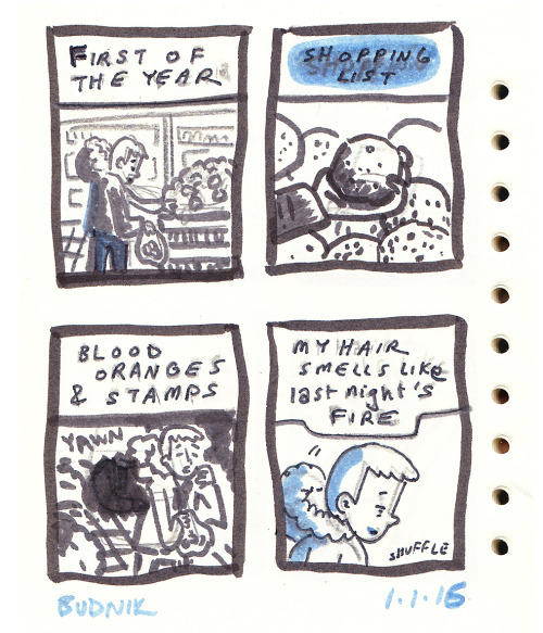 Think about what that third panel and its caption are doing (Comic by Kevin Budnik)