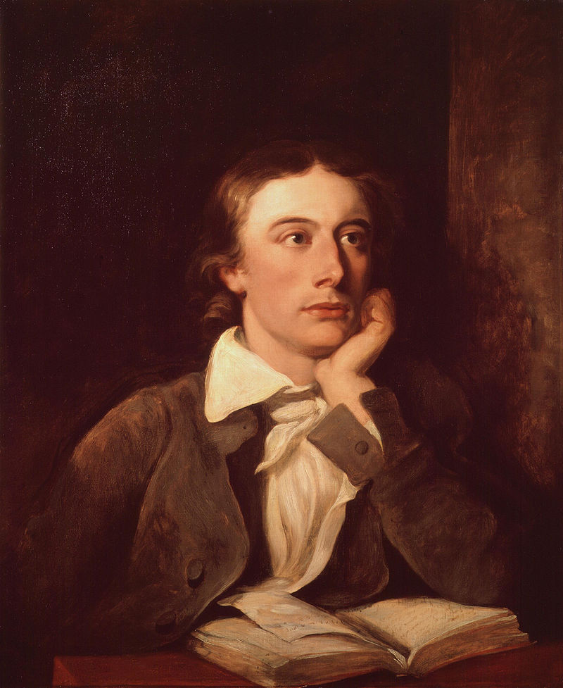 Portrait of John Keats. You don't have to look like this to be a poet, I promise. You also don't need to contract TB and die in your twenties to be a poet.