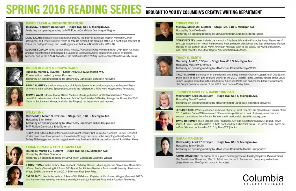 #CWReadingSeries Showcases Writing