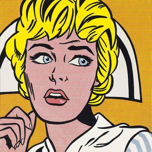 A nurse, by Roy Lichtenstein