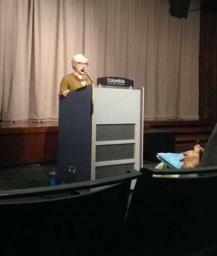 Opening for Tobias Wolff @ CCC (Photo credit: Mandy Clark)