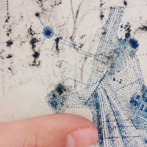Detail of subjective mapping project.