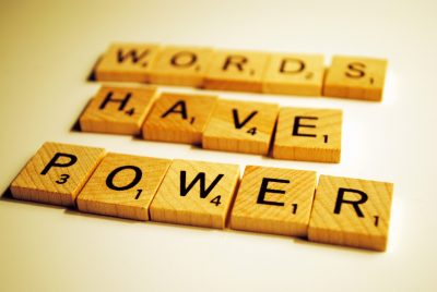 Words Are Still Power