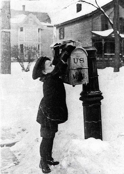 Submissions don't stop for snow (US Public Domain)