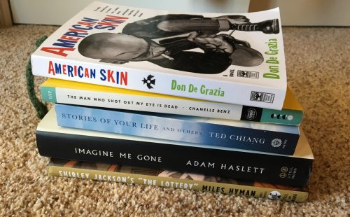 The books I unrealistically set out to finish during break