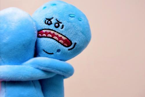 Sad People Hugging