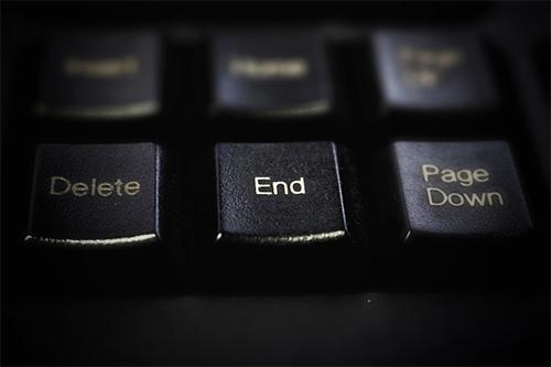 Keyboard Delete Button