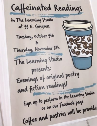 Extracurriculars: Caffeinated Reading Series