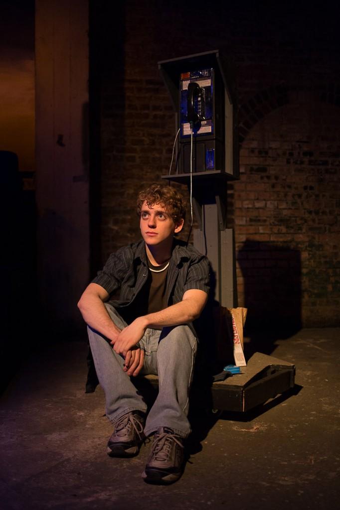 "Michael Kurowski in Jackalope Theatre's ""Four"""