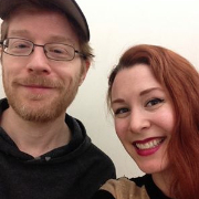 Gretchen Wylder with Anthony Rapp