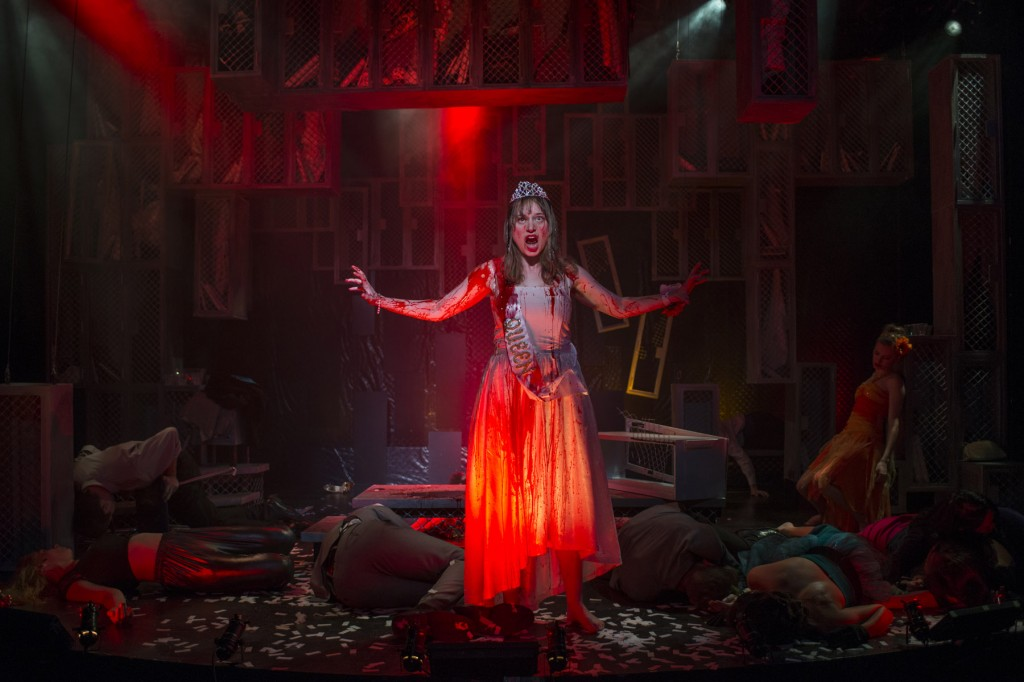 "Joseph Jefferson Award nominee Callie Johnson in Bailiwick Chicago's ""Carrie: The Musical"""