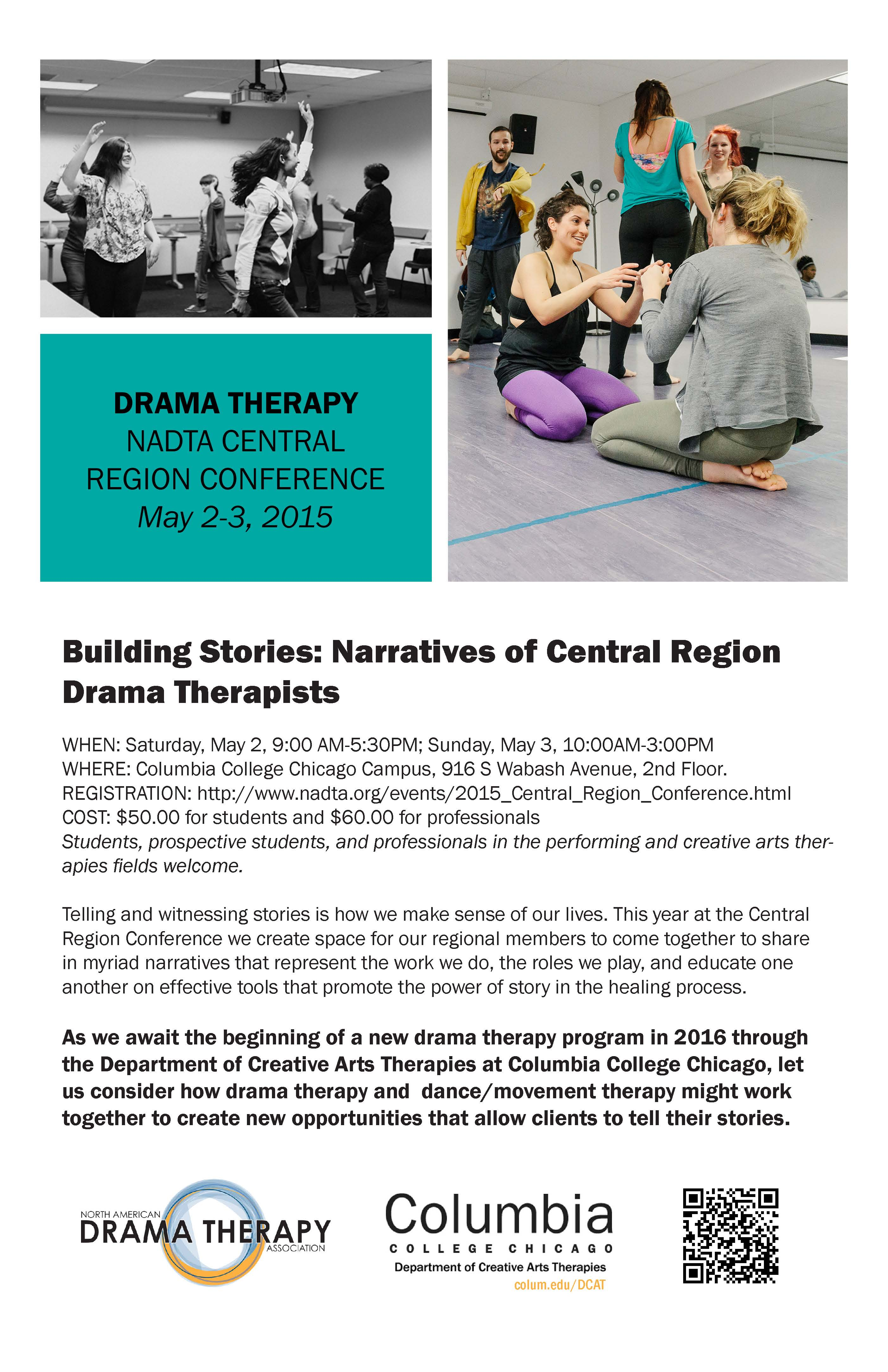 drama therapy Would you like to learn a little about drama therapy as you may recall, noel  mcdermott was very kind in providing us with an introduction to.