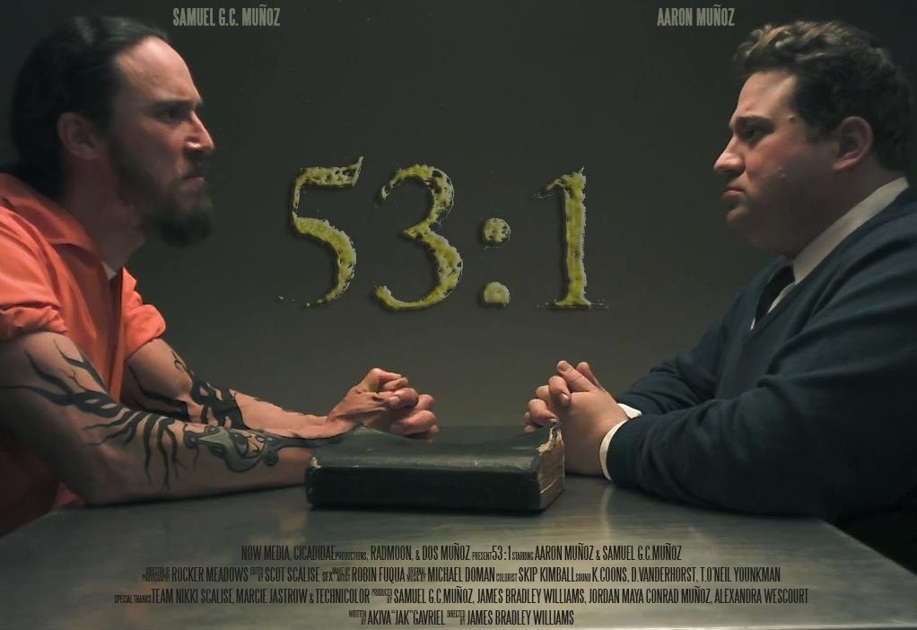 "Samuel Munoz and Aaron Munoz in ""53:1"""
