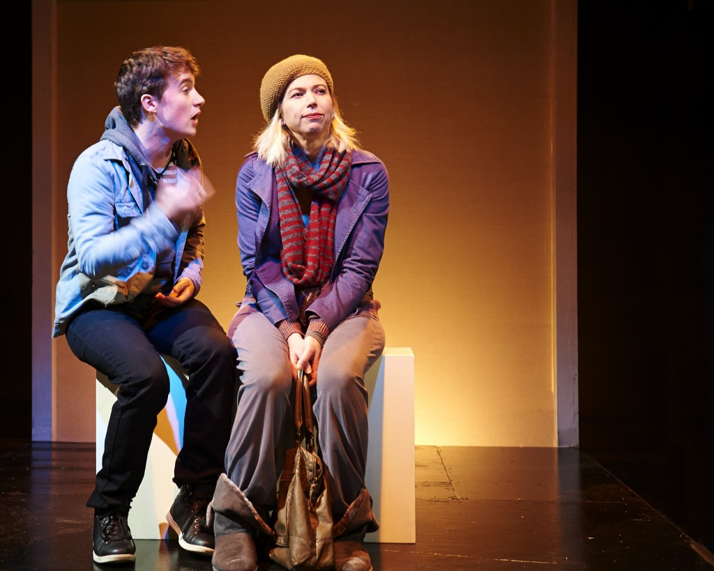 "Jeff Award nominee Kendra Thulin (right) in ""The Vandal"" at Steep Theatre"