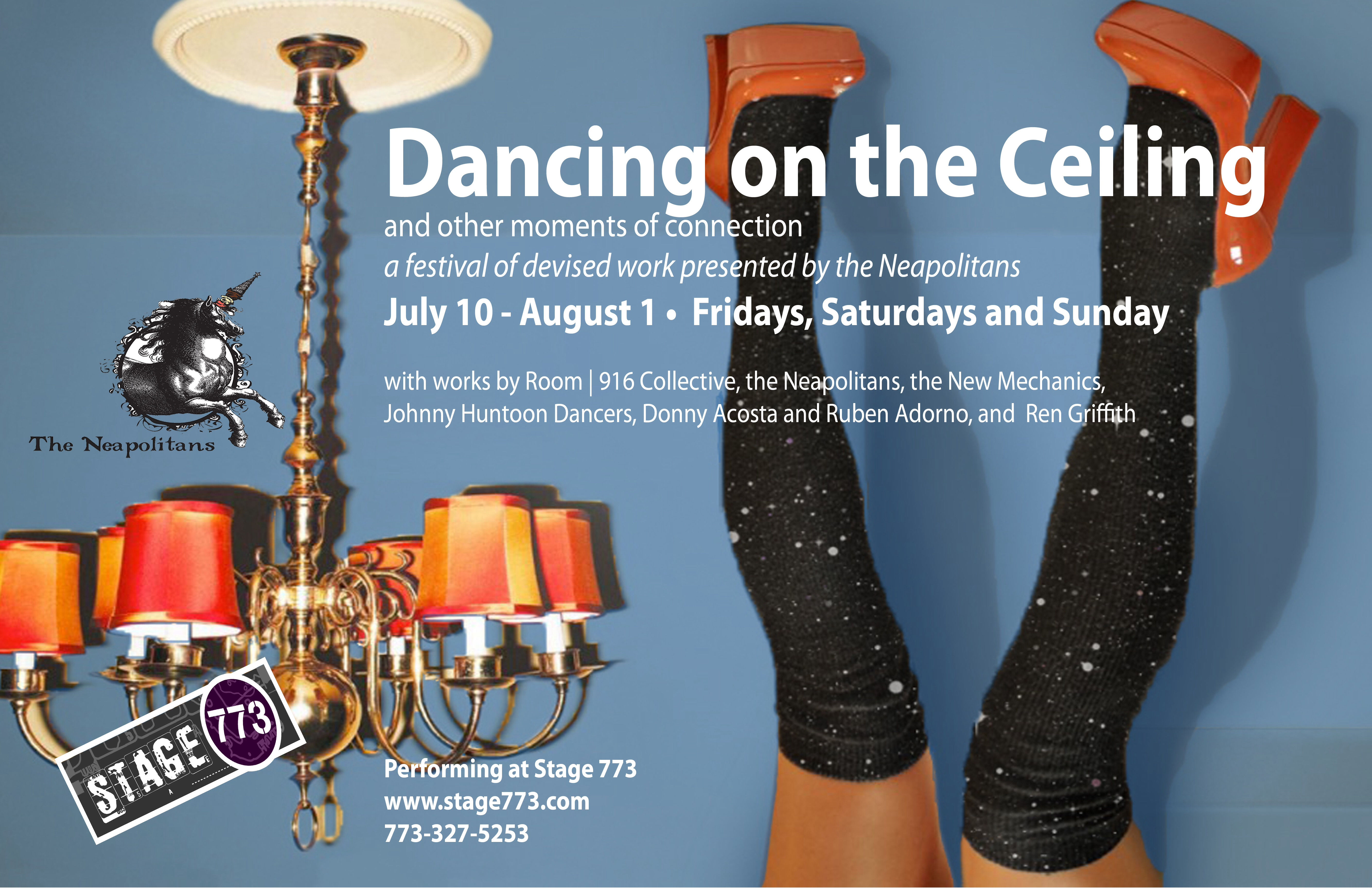 Awesome U0027Dancing On The Ceilingu0027 Festival Features New Work By Columbia College  Chicago Theatre And Dance Alumni, Students, And Faculty July 10 Aug. 1 At  Stage 773
