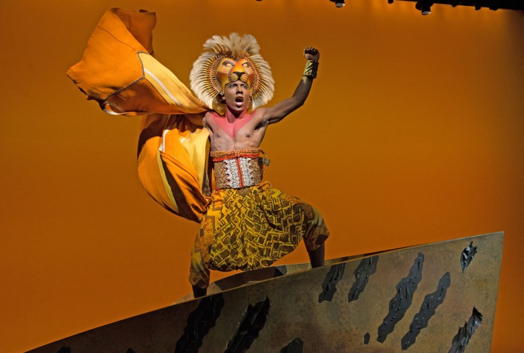 "Aaron Nelson as Simba in ""The Lion King"" (Photo: Joan Marcus)"