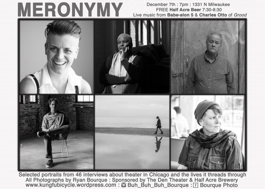 Portraits by Ryan Bourque: clockwise from upper right: Bonnie Metzgar, Cheryl Lynn Bruce, Francis Guinan, Molly Brennan, Marti Lyons, Michael Shannon