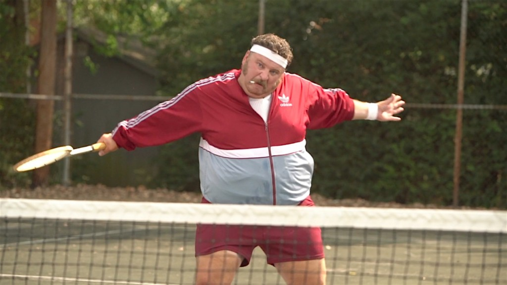 "Aaron Munoz in ""Tennis Tips with Freddy Love"""