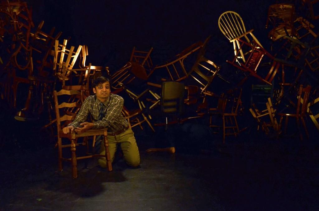 "Kaiser Ahmed in ""The Awake."" Photo: Lauren Nigri."