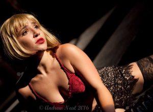 """Kellen Marie in """"Cabaret"""""""