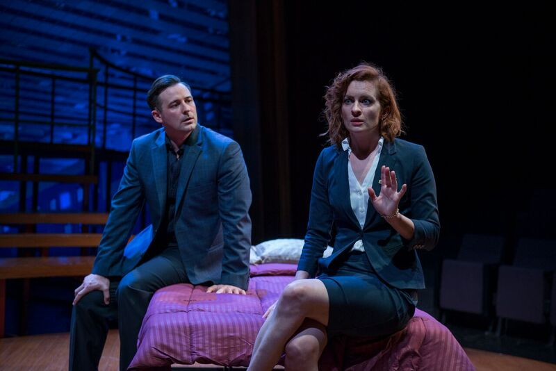"Jess Godwin with Thom Miller in ""Company."""