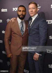 "Joseph Sikora and ""Power""co-star Omari Hardwick"
