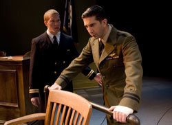 "Joseph Sikora and David Schwimmer in ""The Caine Mutiny Court-Martial"""